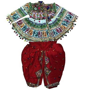 1fe696c0272886 Navratrikedia,gujarat Kedia,kutch embroidered Mens wear-Navratri Kedia  Mluti colour Designer Indian
