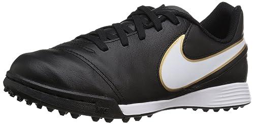 6bda7db6c Nike Boys' JR TIEMPO LEGEND VI TF Football Training Shoes Black Size: 13  Child