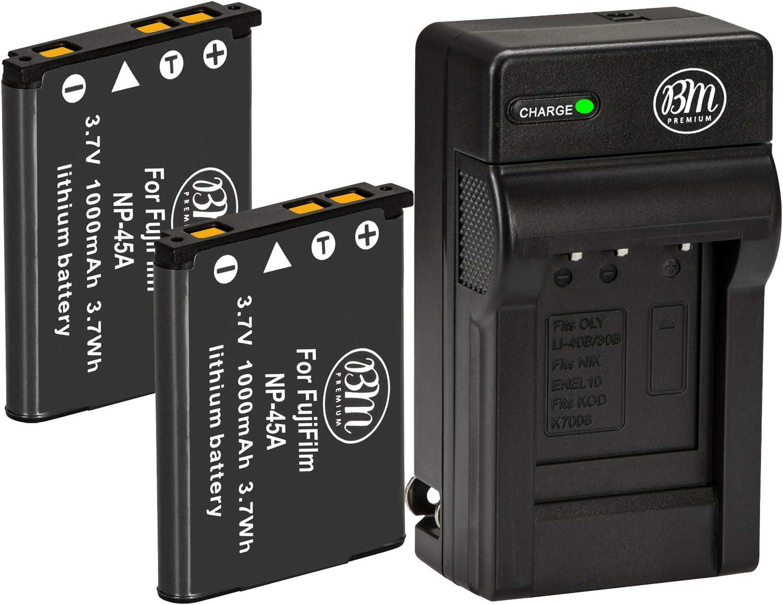 NP-45 NP-45A Battery Charger for Fuji FinePix J250 JV90 JV100 JV105 JV110 JV150
