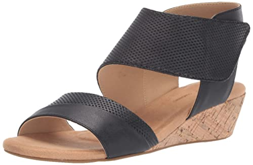 9c645cd6e6 Rockport Women's Calia 2 Piece Sandal Wedge