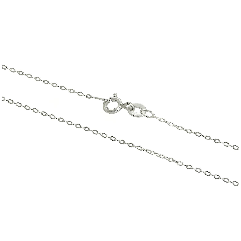 Chaîne à Mailles Jaseron Epaisseur 1mm en Argent 925/1000 - 36 à 71cm jewellerybox HAR-1479