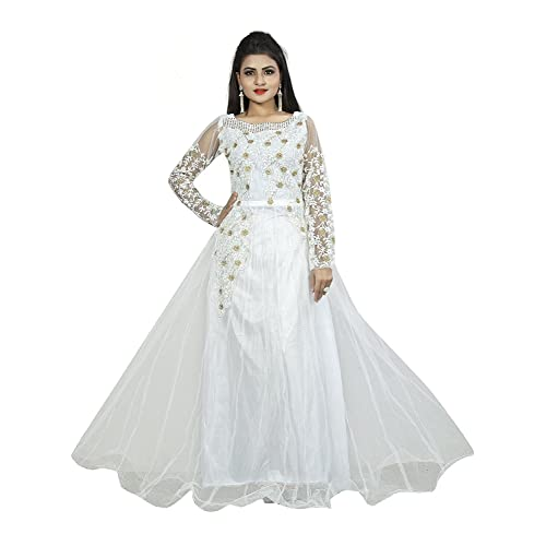Net Work Gowns: Buy Net Work Gowns Online at Best Prices in India ...