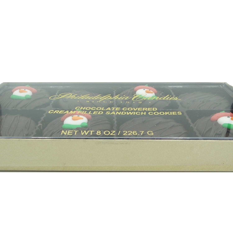 Amazon.com: Philadelphia Candies Dark Chocolate Covered OREO Cookies ...