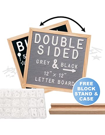Changeable Letter Boards | Amazon com | Office & School Supplies