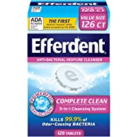 Deals on Efferdent Original Anti-Bacterial Denture Cleanser Tablets