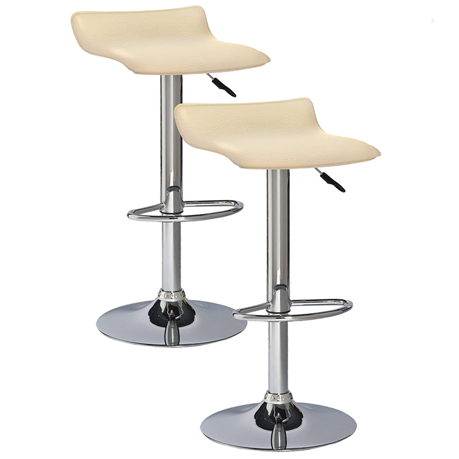 Leick Favorite Finds Bar Stool, Set of 2, Cream