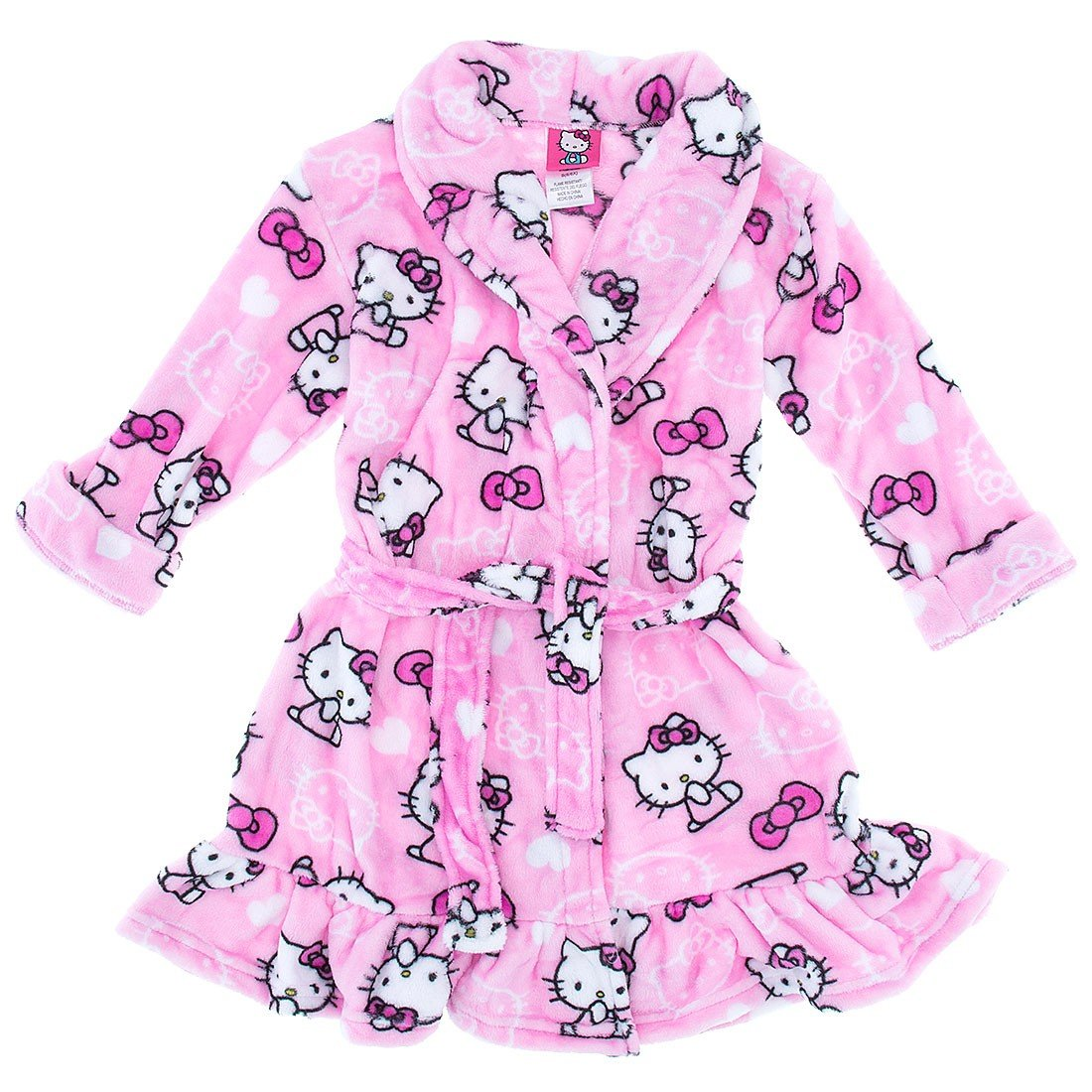 Hello Kitty Little Girls' More Bows Robe
