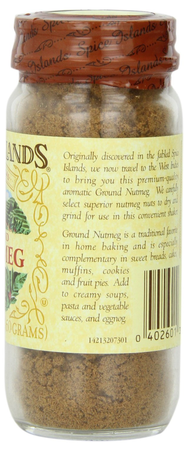 Spice Islands Nutmeg, Ground, 2.1-Ounce (Pack of 3) by Spice Island (Image #3)