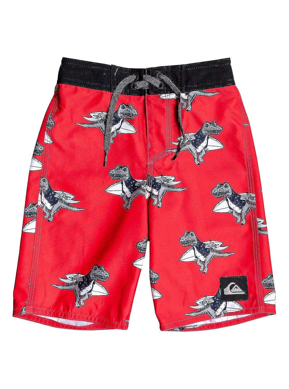 Quiksilver Little Everyday Dinos Boy 14 Boardshort Swim Trunk