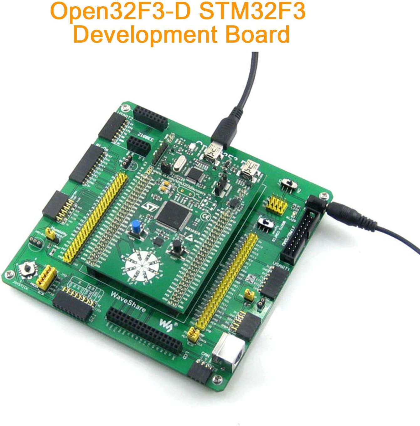 Has Various Standard Interfaces and Expansions for Application with Stm32F0 Series pzsmocn Open Source Electronic Stm32 Development Board Open32F3-D Kit Feature Stm32F3Discovery As Microcontroller