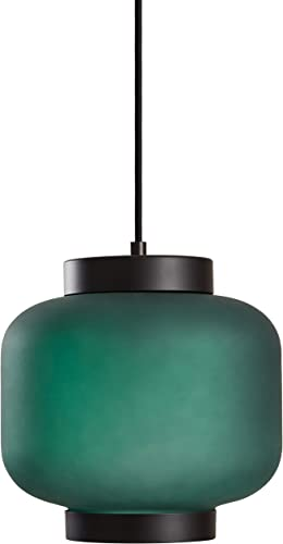 Amazon Brand Rivet Mid-Century Outer Frosted Glass Finish Pendant Light