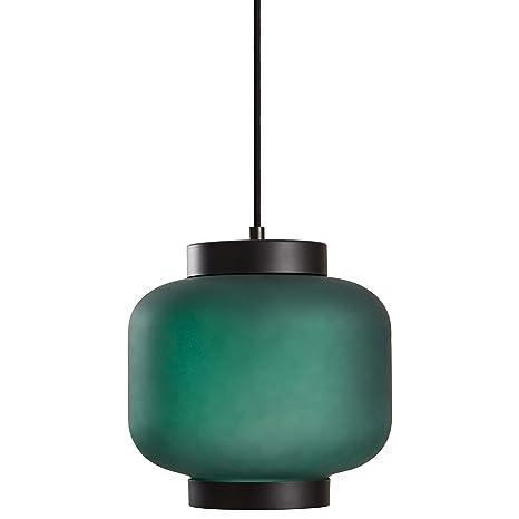Amazon.com: Rivet Mid-Century - Lámpara colgante de cristal ...