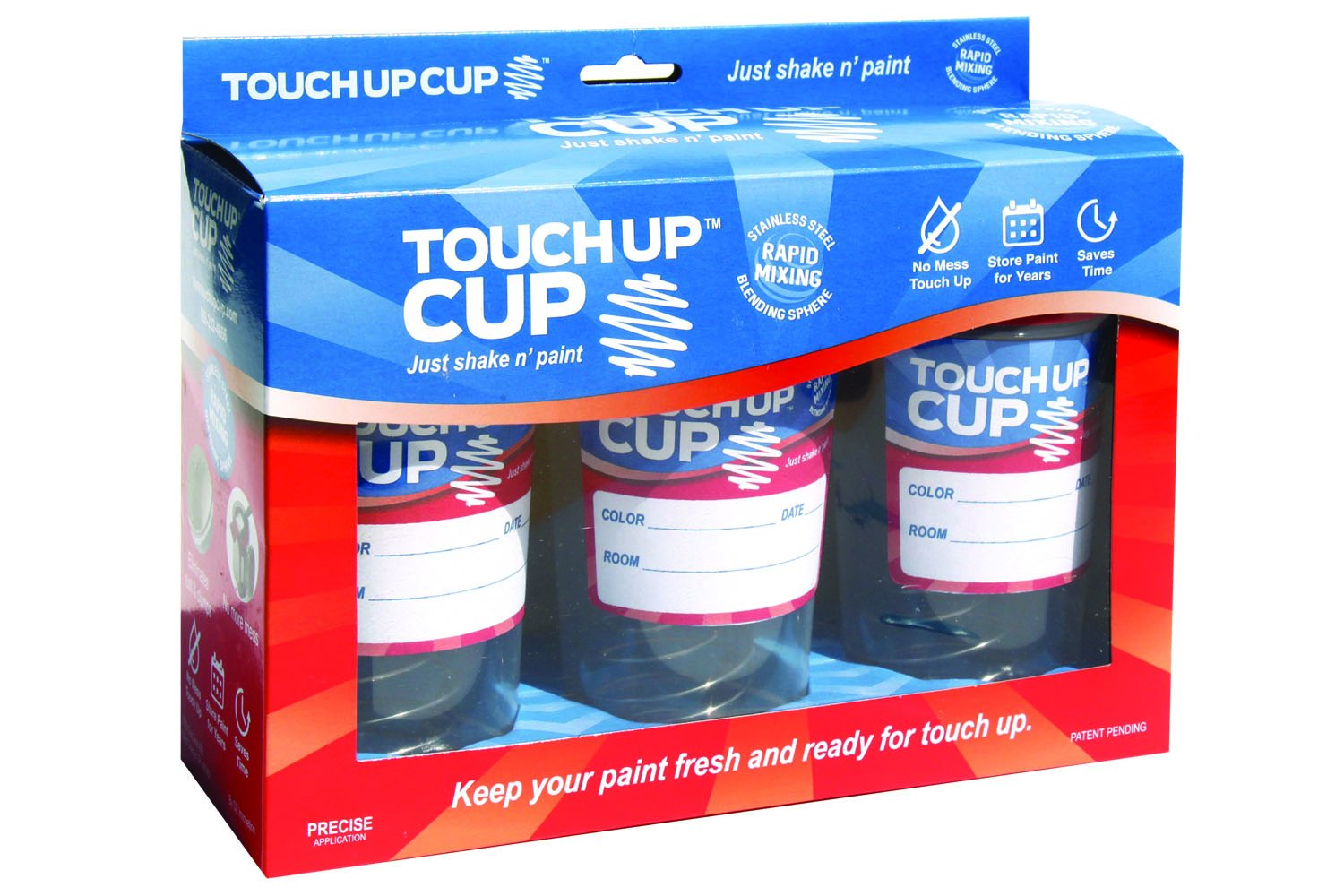 Touch Up Cup | Just Shake n' Paint - Three Pack by Touch Up Cup