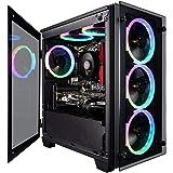 CUK Stratos Micro Gaming Desktop (AMD Ryzen 5 Pro, 32GB DDR4 RAM, 512GB NVMe SSD + 2TB HDD, NVIDIA GeForce GTX 1650 4GB, 600W