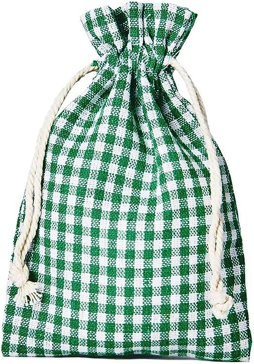 10 bolsitas de algodón, bolsas de algodón estilo rústico, tamaño ...