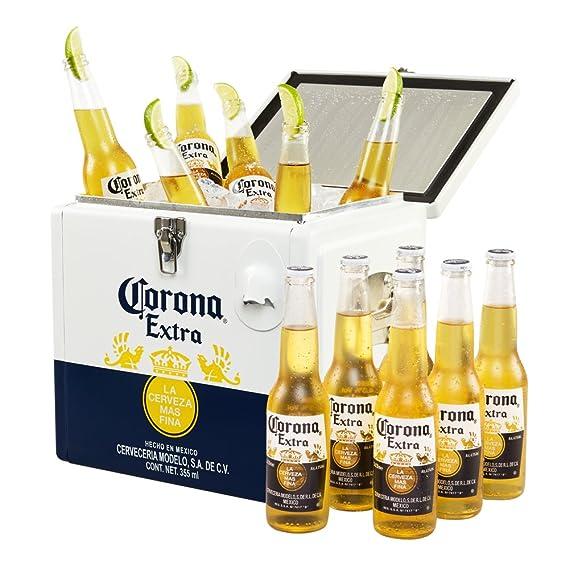 982d685ac6 Corona Cooler with 12x330ml Corona Extra Bottle Pack: Amazon.co.uk: Beer,  Wine & Spirits
