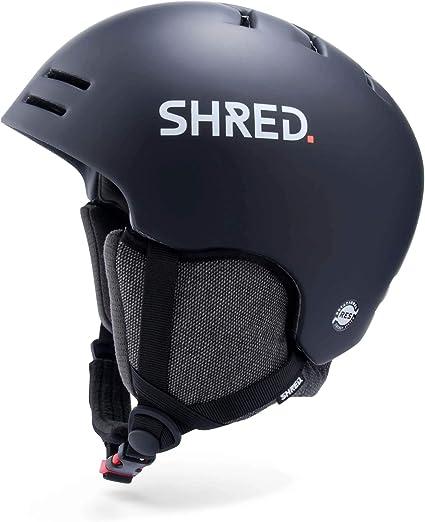 Shred Bumper Noshock Midnight Helm Ski Snowboard