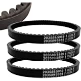 3PCS 30 Series Go Kart Drive Belt Replaces Manco 5959 / Comet 203589 Durable Trorque Converter Belt