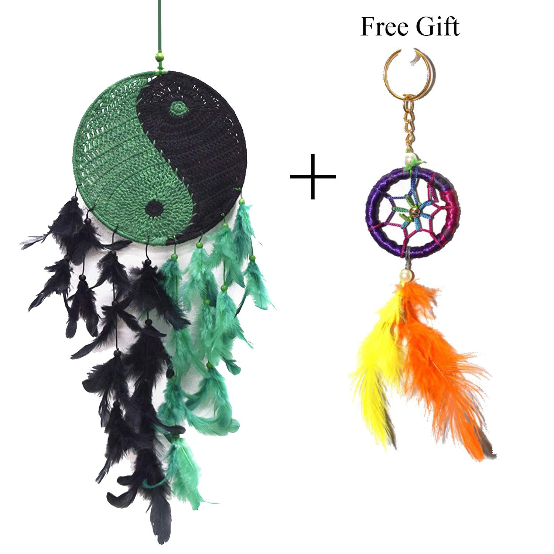 Odishabazaar Wall Hanging Crochet Dream Catcher Pattern Yin Yang