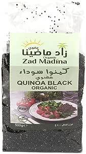 حبوب الكينوا السوداء العضوية-من شركة زاد ماضينا-وزن المنتج 500 جرام