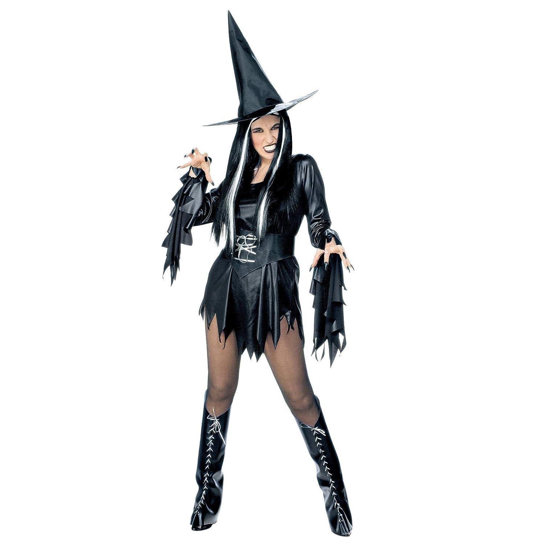 WIDMANN Widman - Disfraz de halloween bruja malvada para mujer ...