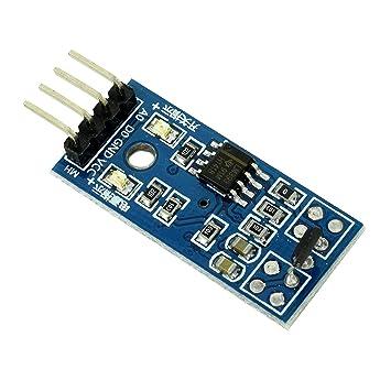 5Pcs Magnetic Detect Car Sensor Module For Arduino Motor Speed Test Hall Swit hc