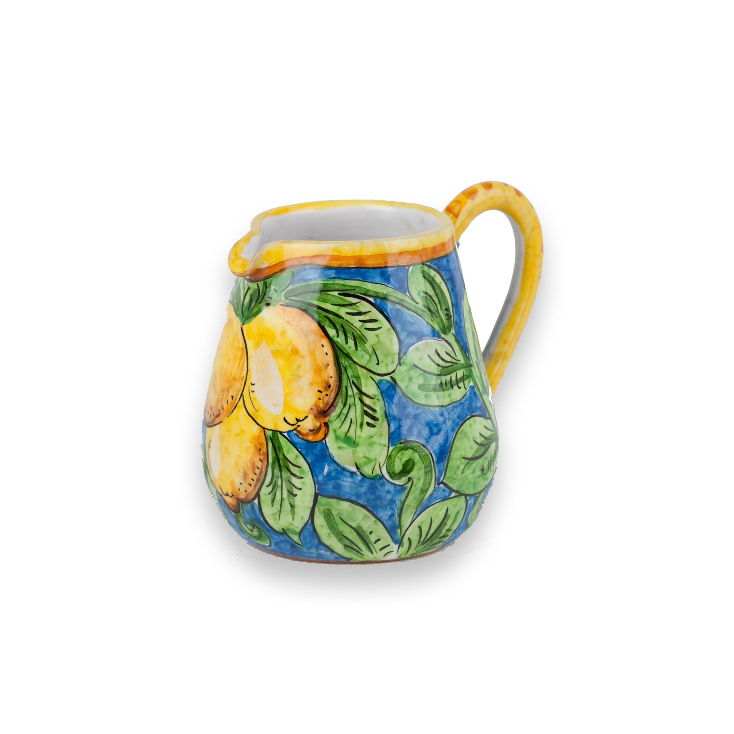 Hand Painted Limone Creamer from Italy