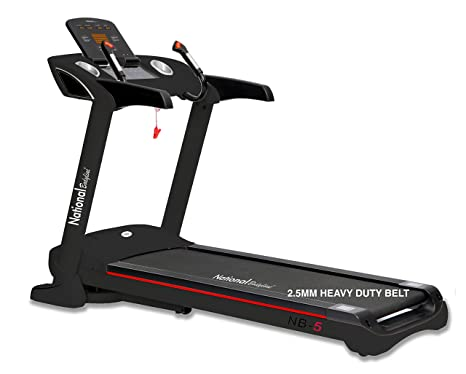 f93f2e281e Buy Leeway Motorized Multi function NB-05 AC Motor 5 HP Treadmill Men and  Women Online at Low Prices in India - Amazon.in