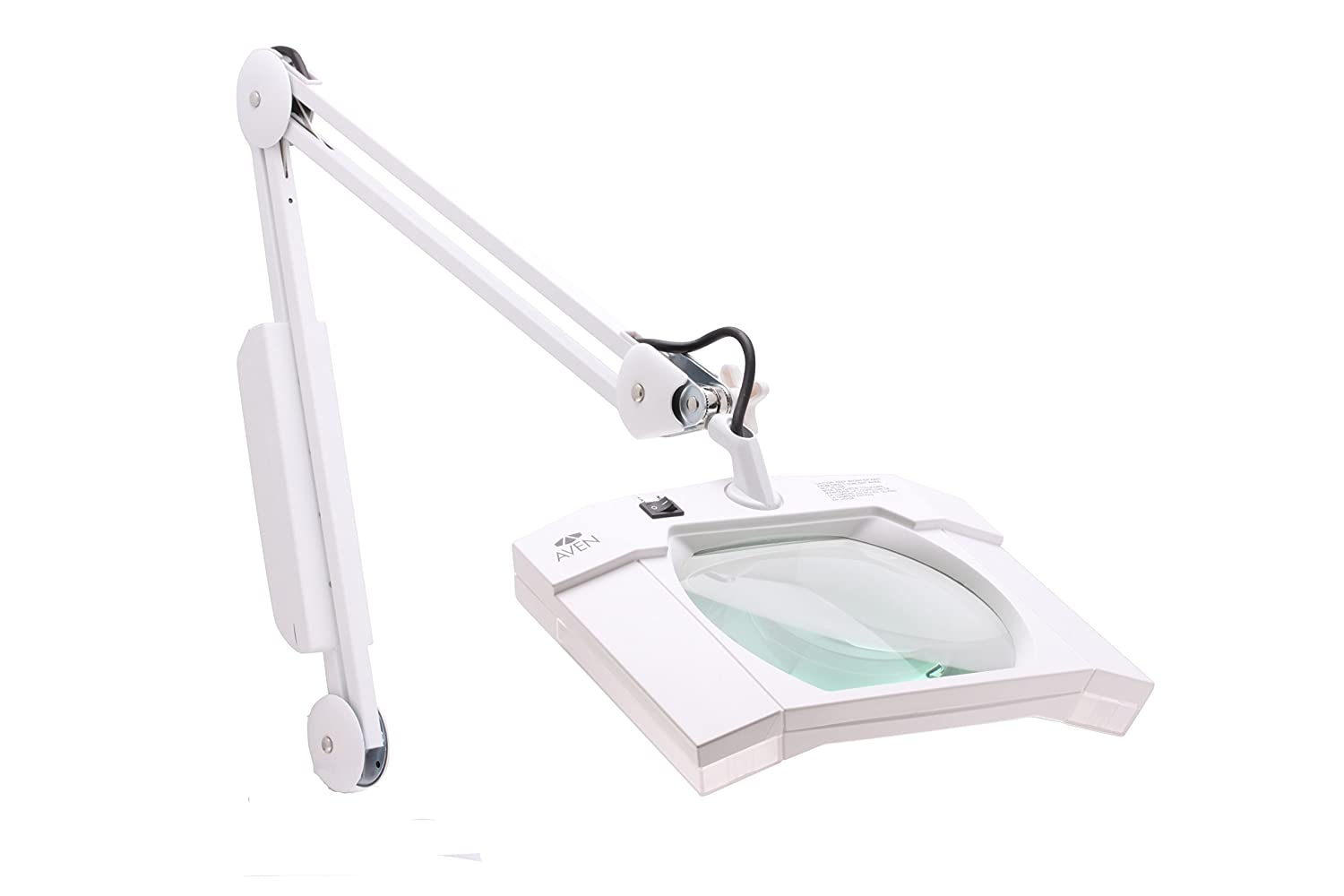 illuminated lighting and magnification catalog desk magnifiers diopter magnifying dv clamp reach daylight led lens with lamp additional webxl white slimline accessories