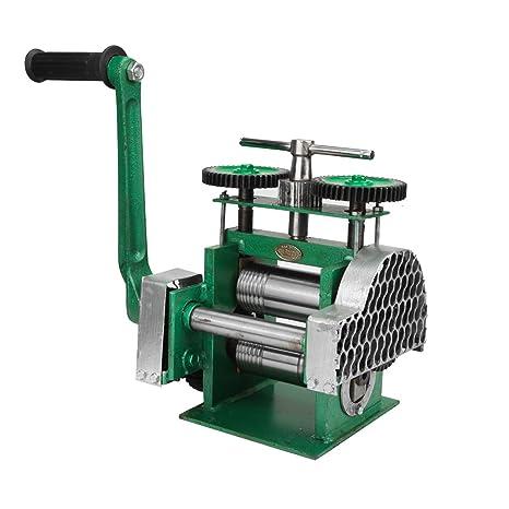 BEAMNOVA Rolling Mill Machine For Jewelry Making Hand Crank Manual Jewelry  Press Tableting Tool