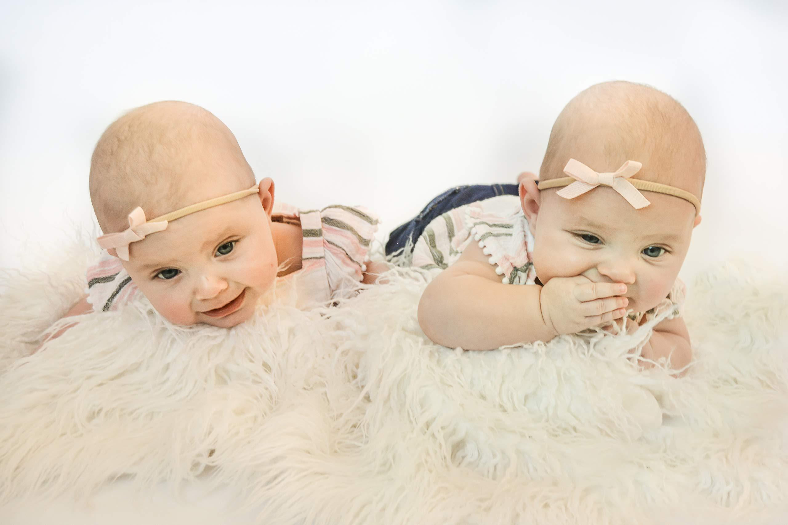 Helluva Baby 5 Piece Newborn Photography Props | Extra-Soft Newborn Pillow Set | Pre-Filled Newborn Posing Pillow | Pre-Filled Props for Baby Photography | Newborn Props for Photography by Helluva Baby (Image #4)