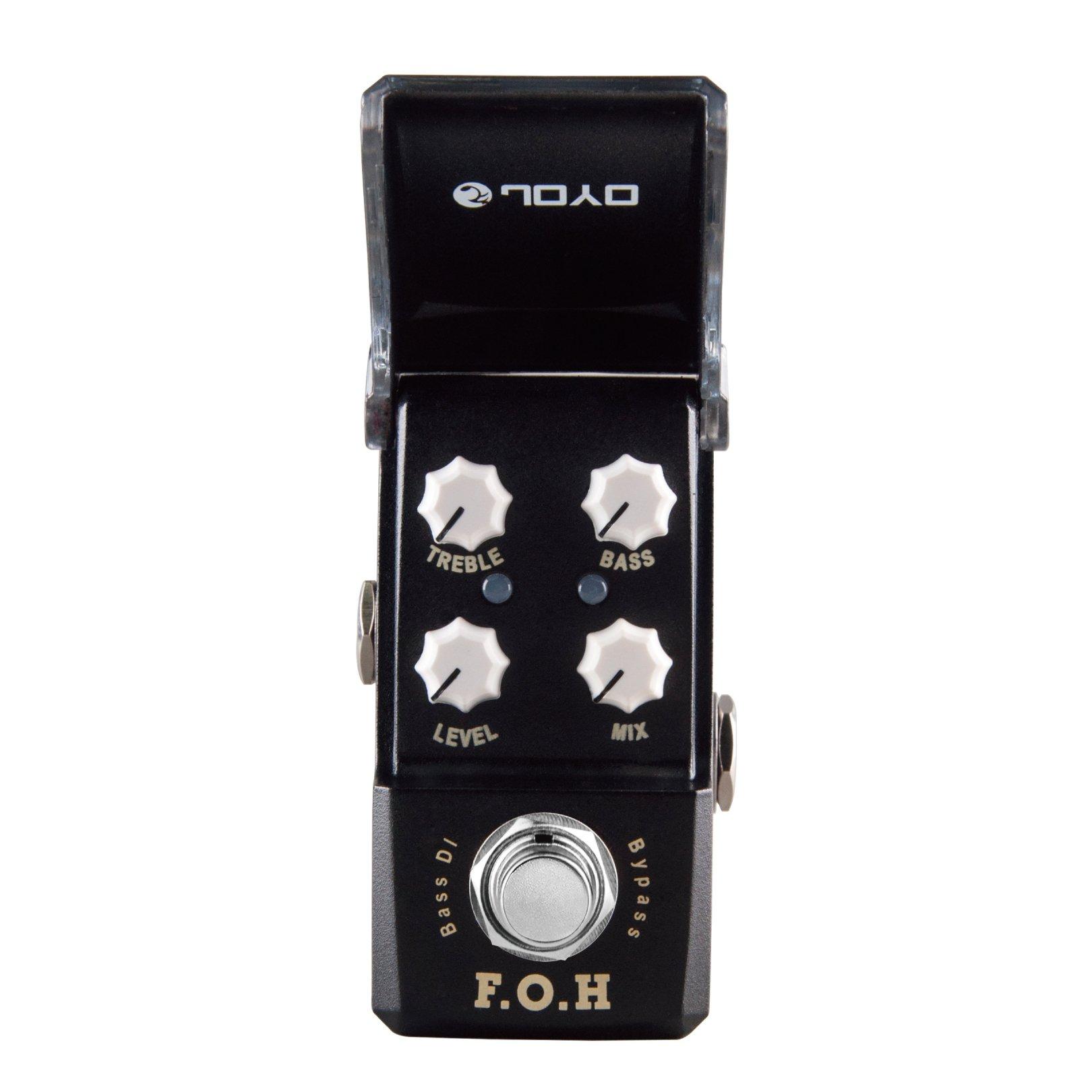 Joyo JF-331 F.O.H. Bass DI/EQ Pedal by Joyo Audio
