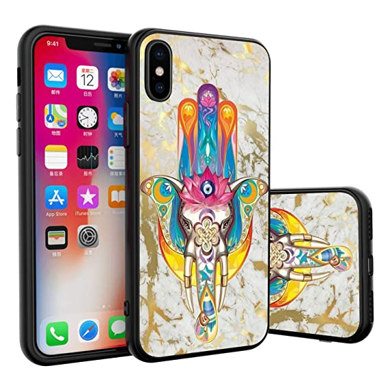 Amazon Com Kasos Phone Case For Iphone X 10 Xs Case Evil