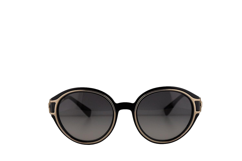 f85984a782e3c Versace VE4342 Sunglasses Black Pale Gold w Grey Gradient Lens 53mm GB111  VE 4342  Amazon.ca  Clothing   Accessories