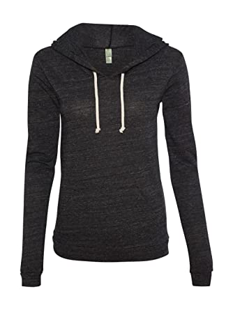 Alternative-Ladies  Eco-Jersey Classic Hooded Pullover T-Shirt-1928 ... 9280ae325