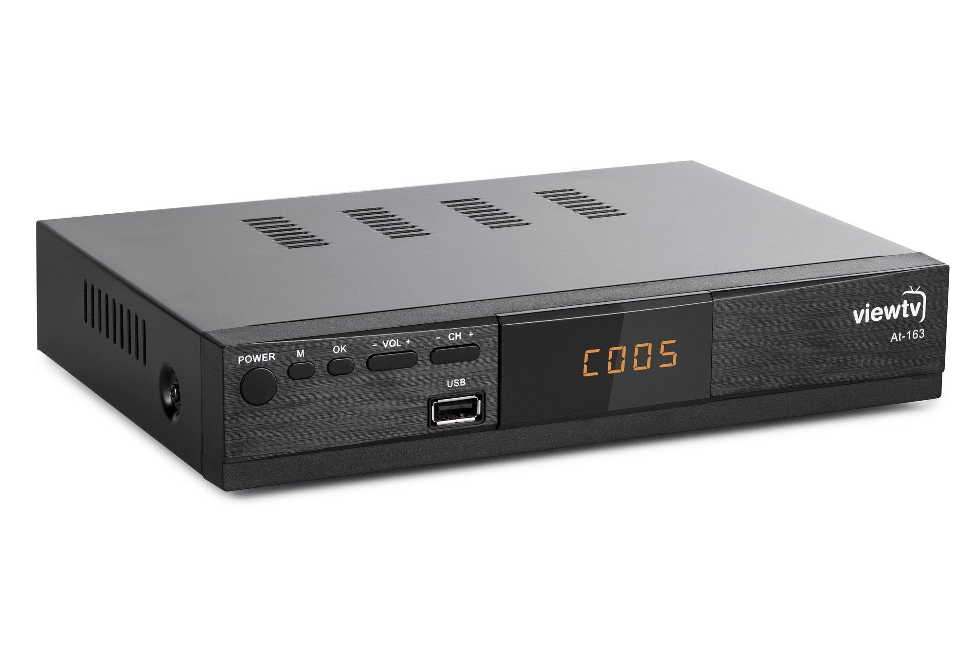 ViewTV AT-163 ATSC Digital TV Converter Box and Media Player by ViewTV