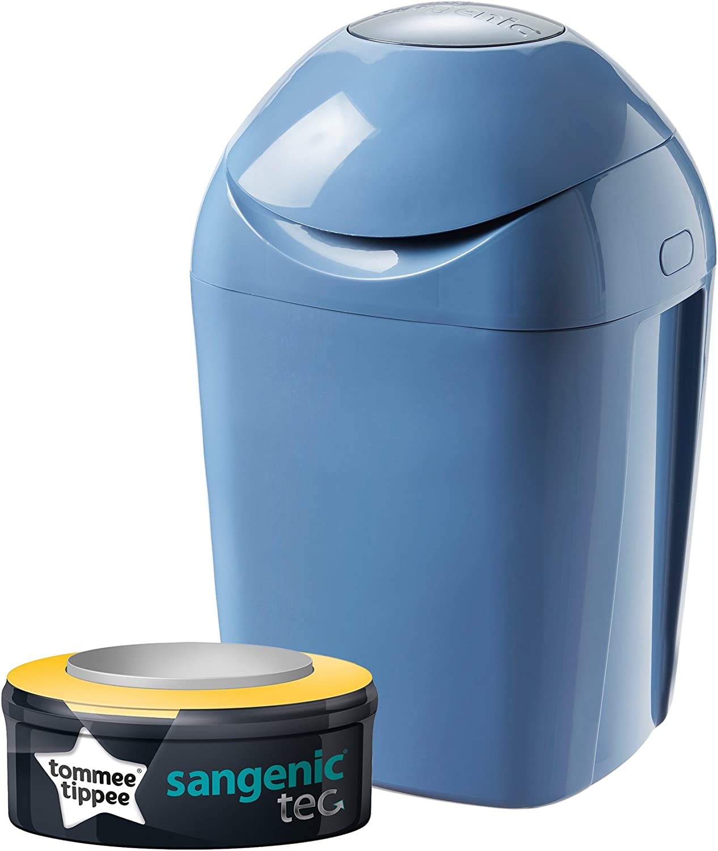 Tommee Tippee Sangenic Tec - Contenedor de pañales, color azul ...