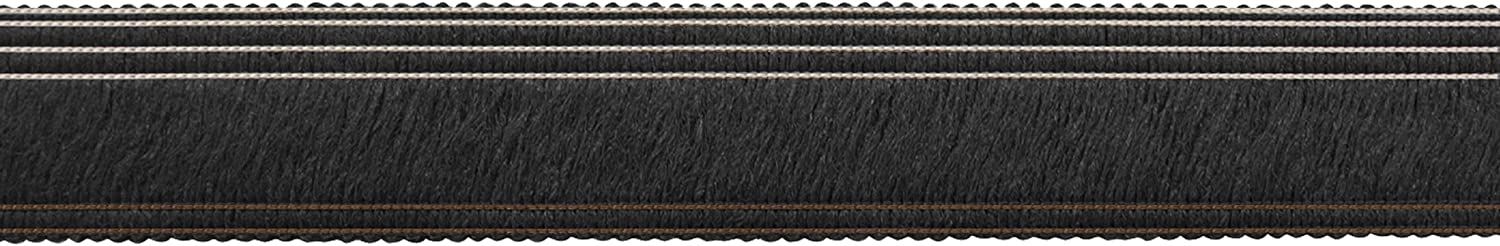 MULTY Ebony Midnight Roll Runner Trim, 1-1/4 by 30
