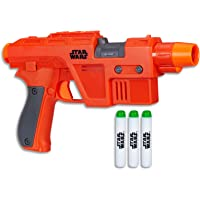STAR WARS - Poe Dameron NERF Blaster + 3 Elite Darts - Kids Dress Up Toys - Ages 8+