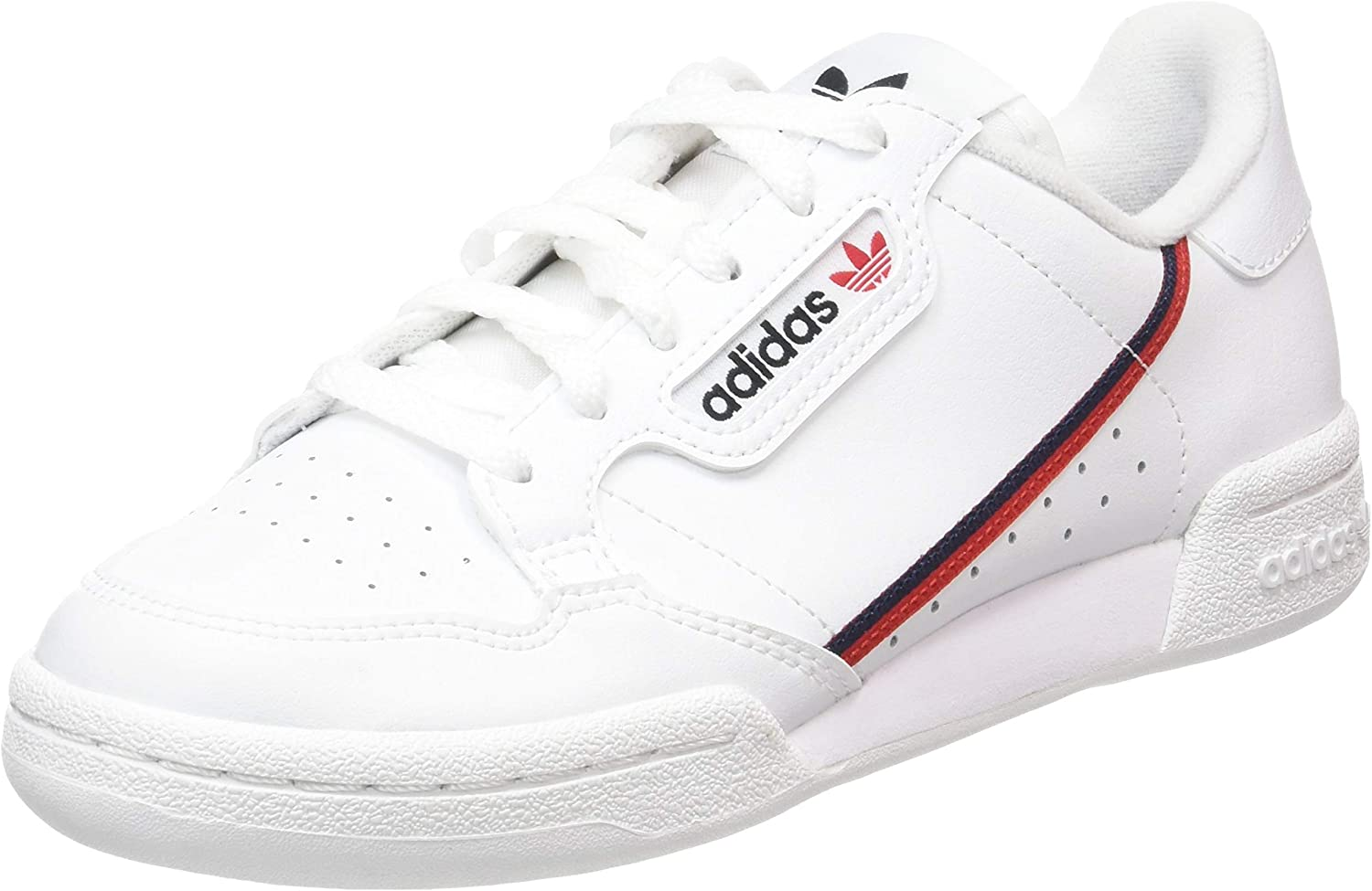 aeronave paso Cabecear  Amazon.com | adidas Originals Continental 80 Kids Trainers | Sneakers