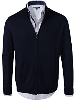 H2H Mens Slim Fit Cardigan Sweaters Long Sleeve Knitted Thermal with ... 38ca3e501