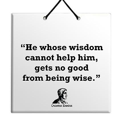 Amazoncom Body Soul N Spirit Quotes Quintus Ennius Philosophy