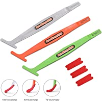 10 Mul-Edge 5IN1 Magnetic Micro Squeegee Tucking Gasket Car Vinyl Wrapping Tools