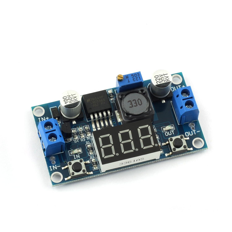 Dzs Elec 5a 75w Dc Step Down Module Kit Constant Current Low Sink Circuit Ripple
