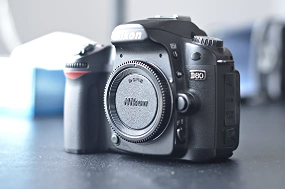 Nikon D80 DSLR Camera (Body only) (OLD MODEL)