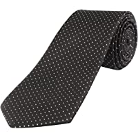 Loviena Glory Black Pin Dot Men's Tie