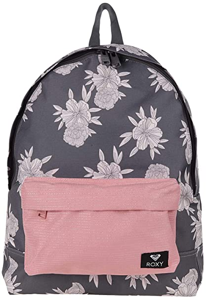 Roxy Sugar Baby Mix Backpack, Mujer, Turbulence Rose and Pearls sw, 1SZ