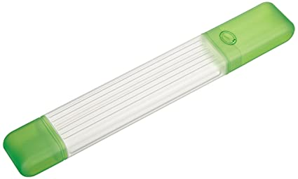 Amazon.com: Clover Knitting Needle Tube Case-Green