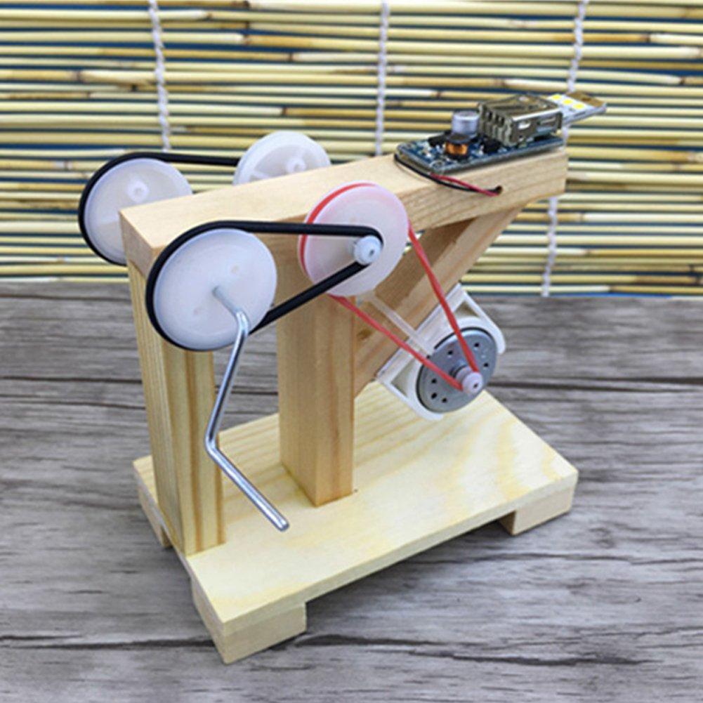 Spielzeug für Kinder Basteln Technologie Generator Handarbeit kleine ...