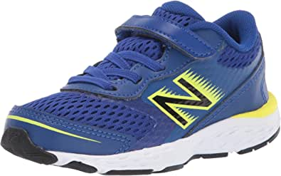 New Balance Kid's 680 V6 Alternative Closure Running Shoe